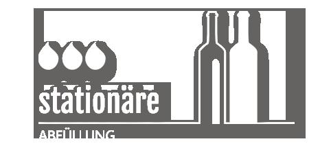 Stationäre Weinabfüllung